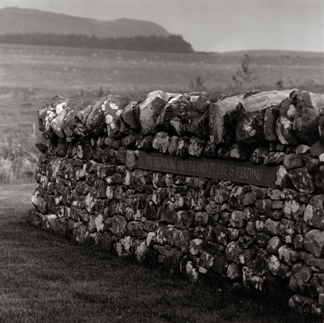 Image of The Beginning and the End of Life is Herding (1998) by Robin Gillanders