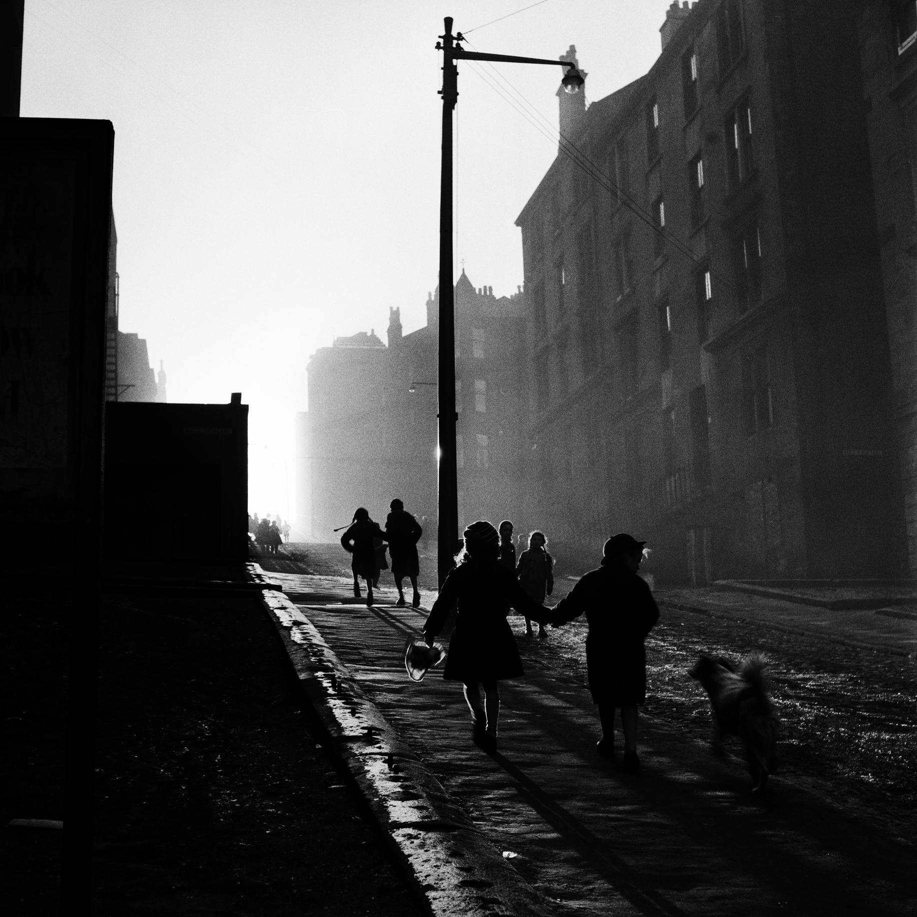 Image of Off to School, Hill Street (1959) by Oscar Marzaroli