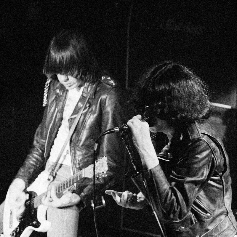 Image of The Ramones by Harry Papadopoulos